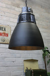 Hangar pendant light vintage high bay style in industrial lighting setting