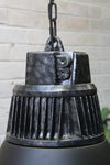Hangar pendant light vintage high bay style with machine like top cover
