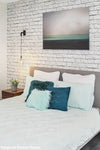 Hanging wall light. hanging bedside wall lighting. wall lights for bedroom