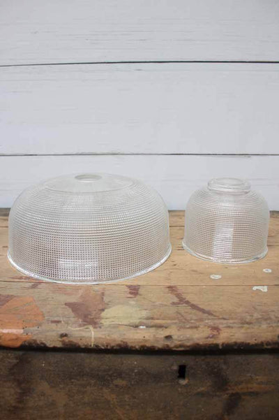 Holophane glass pendant shade. vintage style pendant light. bedside table light.