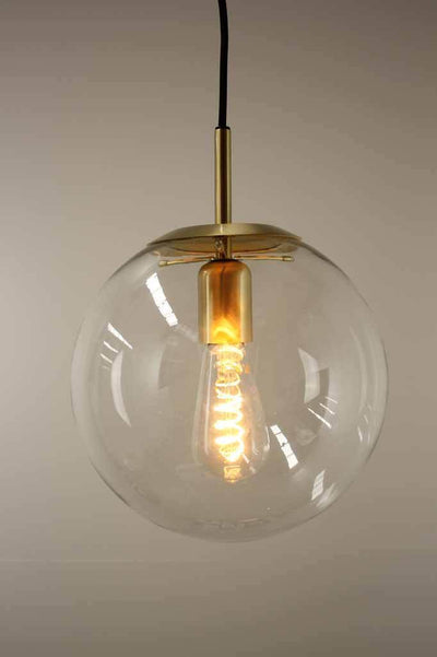 Orb Glass Pendant Light