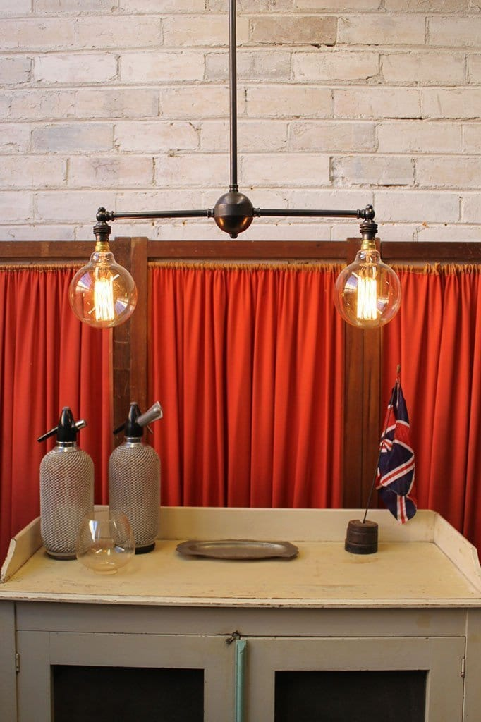Industrial Multi Light Pendant