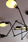 Industrial spider chandelier modern industrial lighting