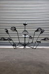 Industrial spider chandelier is ideal for cafe lighting restaurant lighting and hotel lighting.