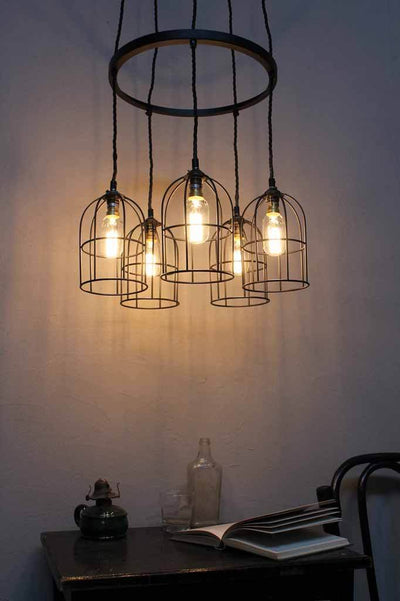 Hoop Cluster Pendant Lights