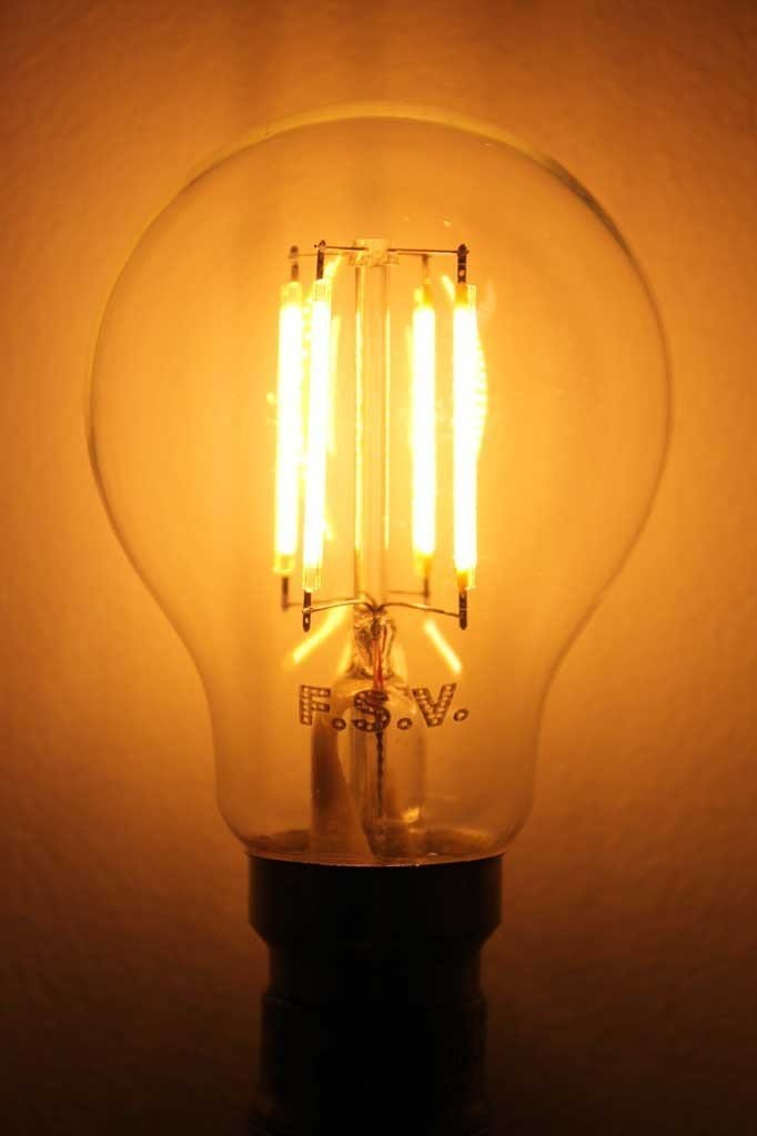 LED Filament Bulb - A60 4W 2200K Non-Dimmable