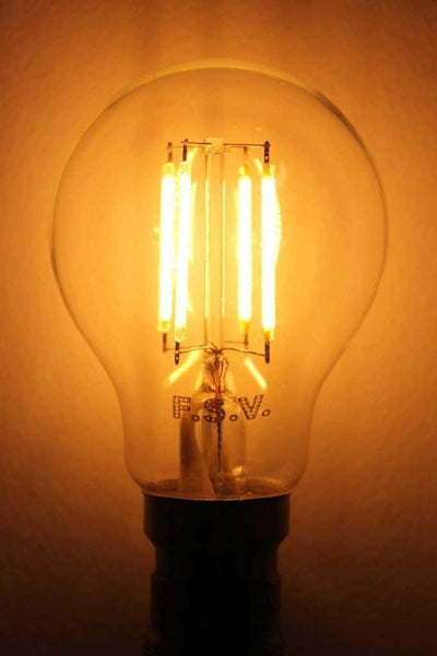 Led filament bulb 4w 2200k b22 non dimmable