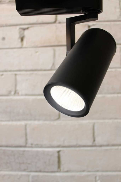 Led track lighting ideal for retail fit outs cafe lighting apartments or galleries