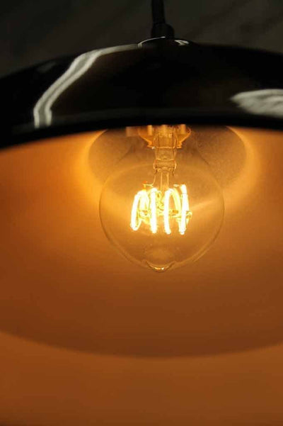 Led bulb quad loop round led filament bulb in pendant lights. online lighting store. lighting Melbourne