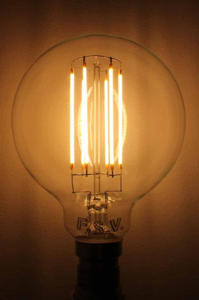 LED Light Bulb - Clear 95 6W 2600K