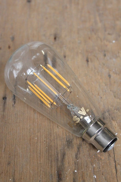 Led bulbs edison teardrop. 5 watts wharm white at 2600k