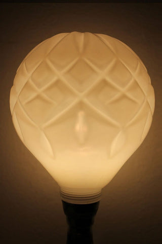 LED Crystal Light Bulb - Opal with halo layer 98801659-7ada-4d30-9293-300ef9418495