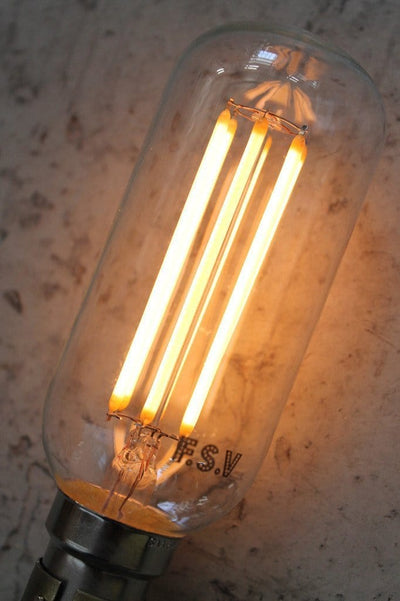 Led filament bulb tubular 6w 2100k industrial led light bulb