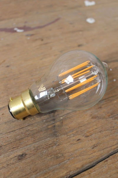 LED Light Bulb - GLS Round 6W 2200K