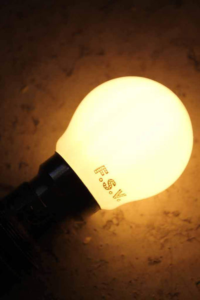 Led light bulb g45 3w 2800k b22 warm