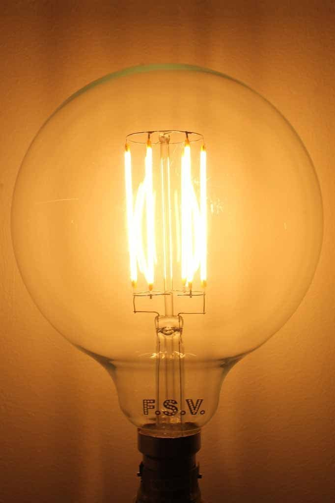 LED Light Bulb - Clear 125 8W 2600K