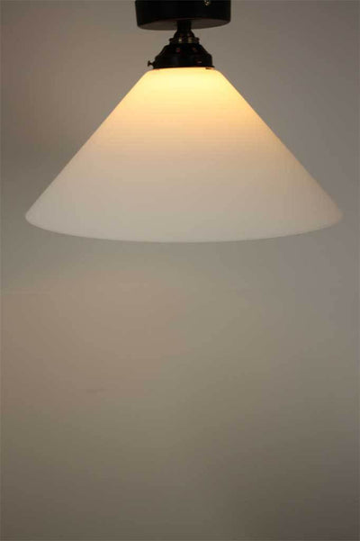 Conical Glass Ceiling Light