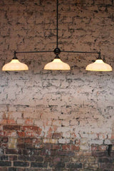 Mayflower 3 light glass pendant is the missing piece in any modern classic decor