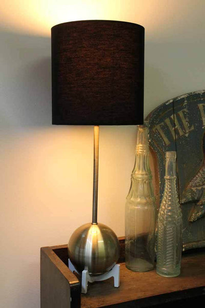 Mid century modern table lamps. bedside table light.