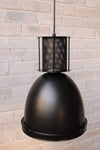 Mill pendant light in matt black