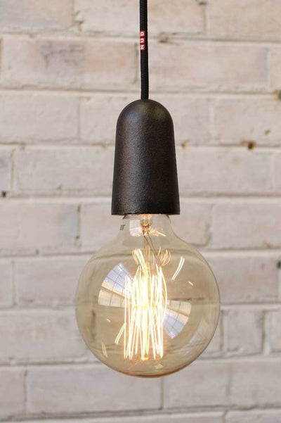 Nud base iron cast iron pipe pendant lights for kitchen lighting