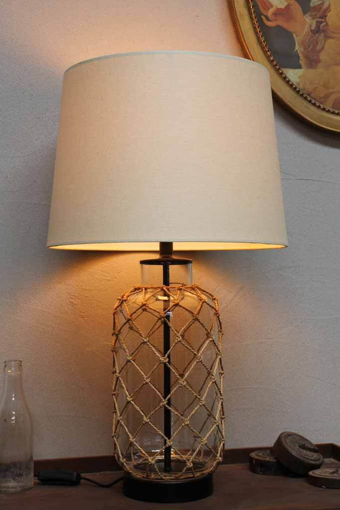 Rope Base Table Lamp Nautical Style Lighting Hamptons