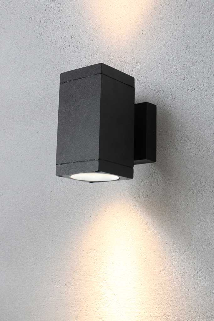 Outdoor up down wall light