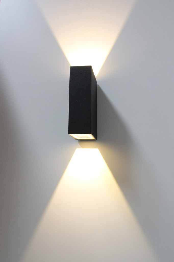 Block Up/Down Exterior Wall Light
