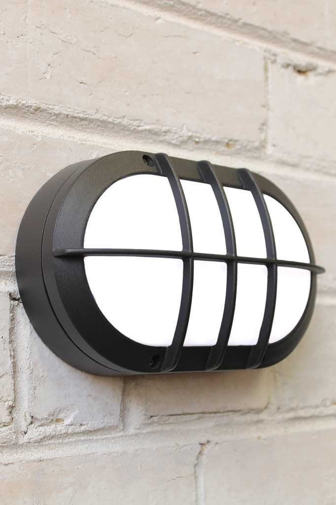 Oval Outdoor Wall Lights