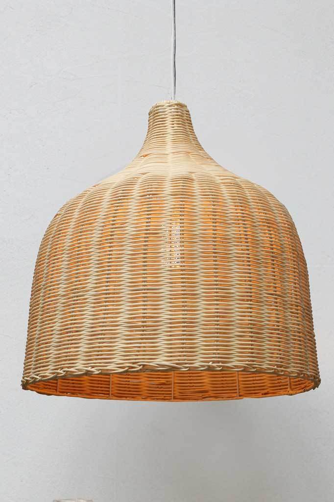 Rattan Pendant Lights Wicker Ceiling Light Shade Fat Shack Vintage