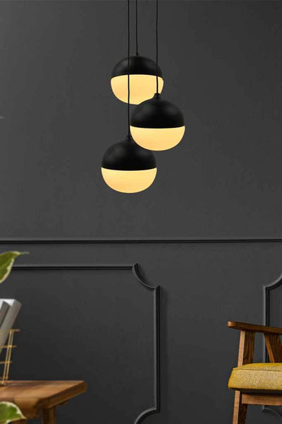 Orbital Glass Pendant Light