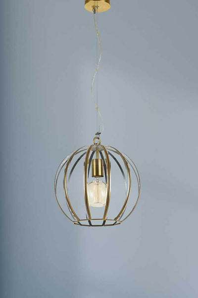 P459 small gold pendant light antique vintage retro lighting bedroom kitchen interior inspiration buy online