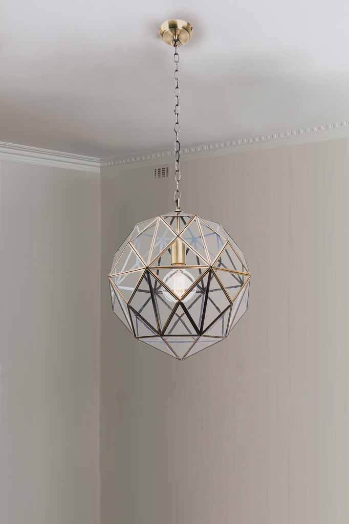 P460 pendant light art deco lighting vintage style interior design home designs globe e14