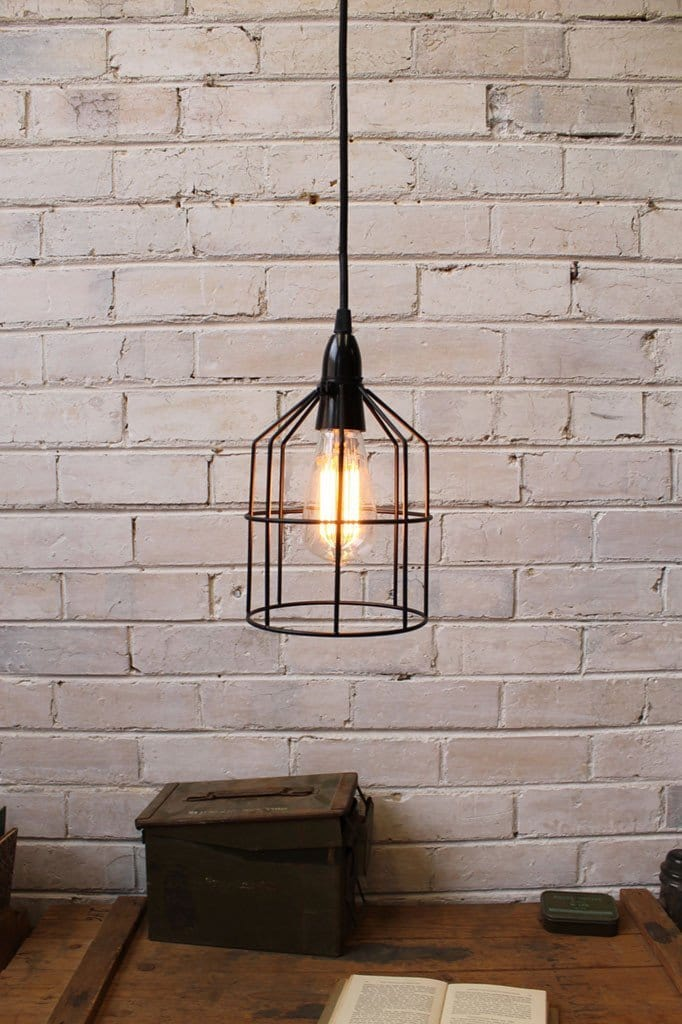 Steel Cage Light