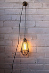 Pendant light cord with edison bulb