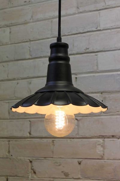 Petticoat pendant light use in home decor or cafe lighting interiors
