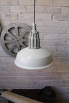 Pumphouse pendant light in industrial