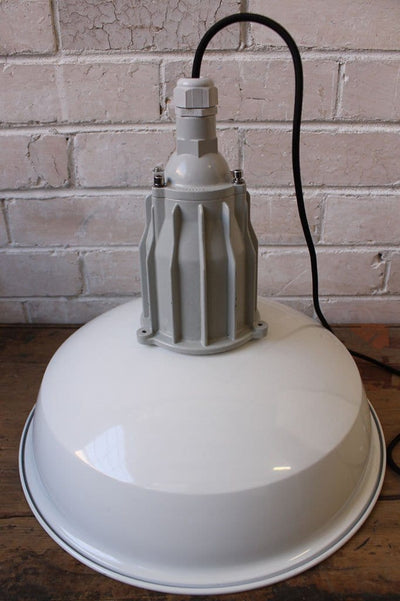 Pumphouse pendant light not attached to ceiling