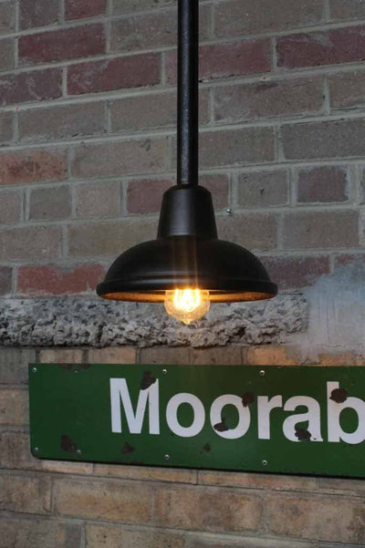 Railway Outdoor Pendant Light - Rod