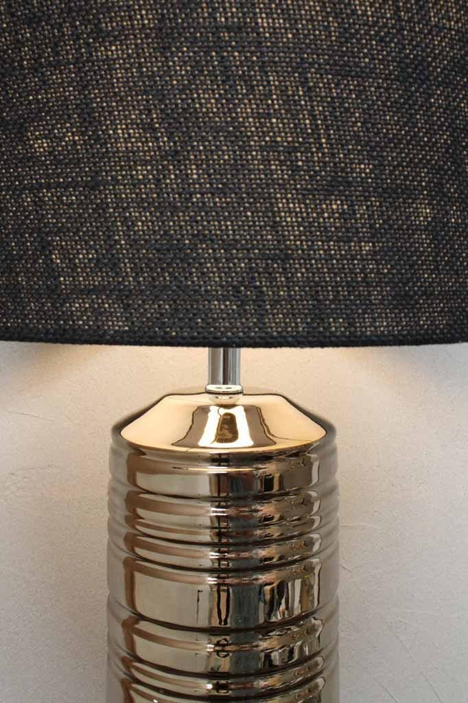 Extra large table lamp. industrial glam lighting. buffet table lights.