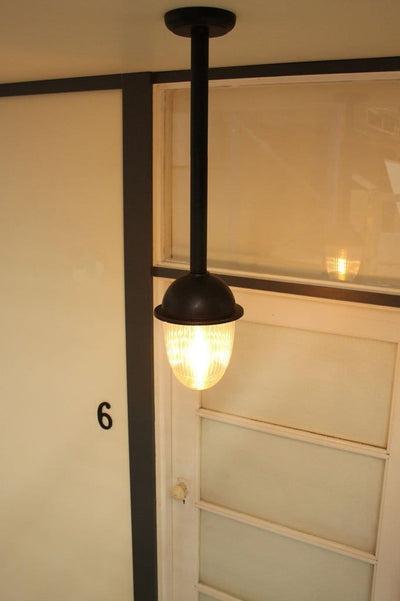 Rod pendant for outdoor use. vintage style exterior lights. pendants for outdoor use