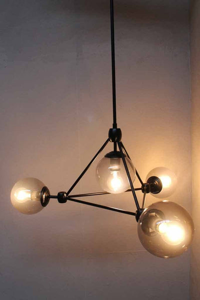 Statement lighting chandelier