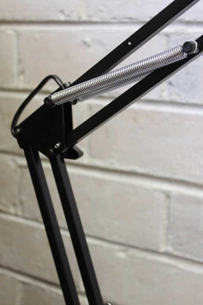 Superlux fluorescent desk lamp sprung arms