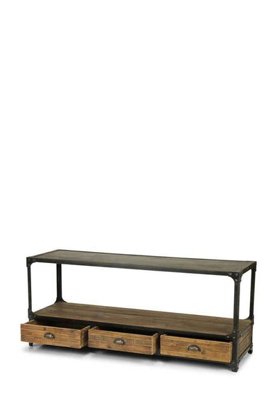 Tv unit drawers online rustic furniture Melbourne