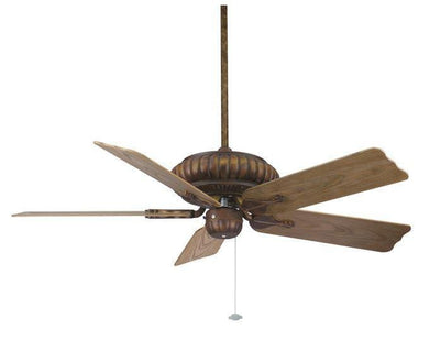 The belleria ceiling fan in tortoise shell with all weather washed oak blades 5