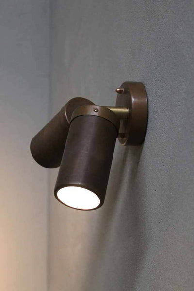 The copper outdoor double spotlight is ideal for outdoor walkways patios and courtyards. online lighting mlebourne