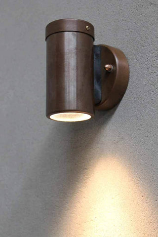 The Copper Outdoor LED Spotlight is ideal for patios outdoor walkways and courtyards