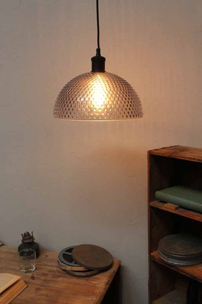 The hobnail glass pendant light is a thick knobbed glass shade pendant. online lighting Melbourne. it was characterized by its smokey knobbed glass and continued to lead the glass