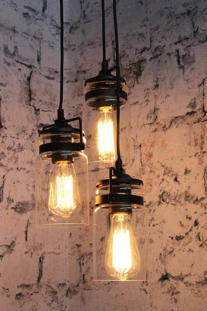 Three drop pendant. modern pendant lighting online.