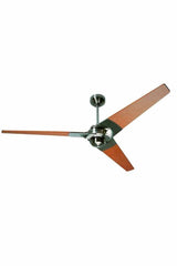 Torsion Ceiling Fan Bright Nickel 62 with Maple Blades by The Modern Fan Company a9846326-5b26-4790-99db-3c32a92eee48